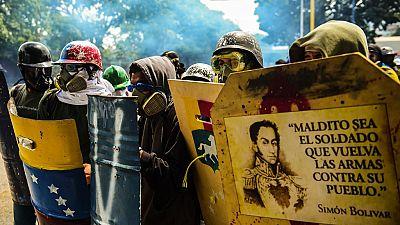 Las protestas del sábado en Venezuela se saldan con disturbios y varios heridos