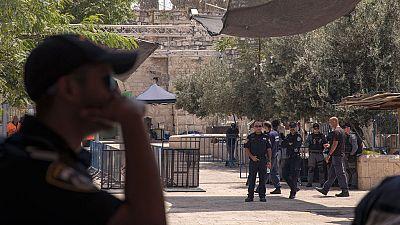 Israel instala más cámaras en la mezquita de Al Aqsa tras dos días de violentos disturbios