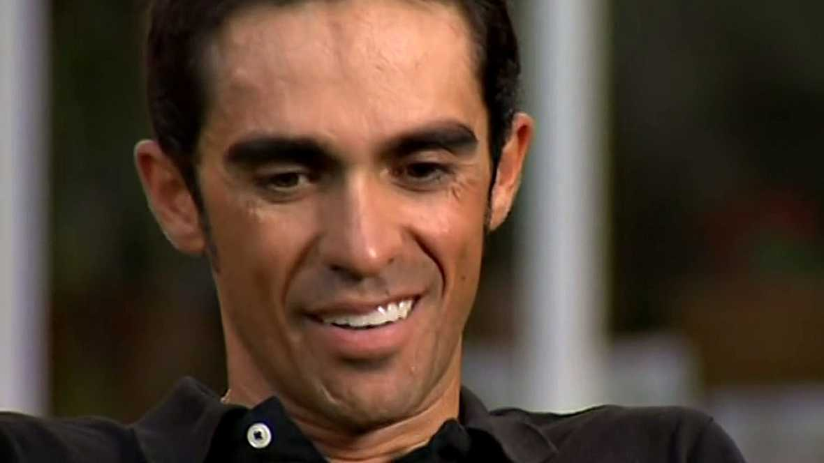 El ciclista español hace balance en TVE de su participación en la ronda gala tras la penúltima etapa del Tour de Francia.