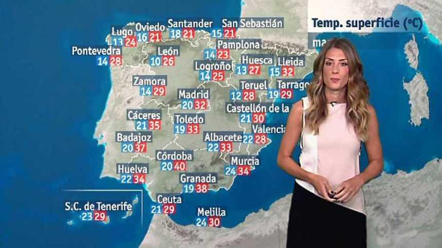 El tiempo en la Comunidad Valenciana - 24/07/17