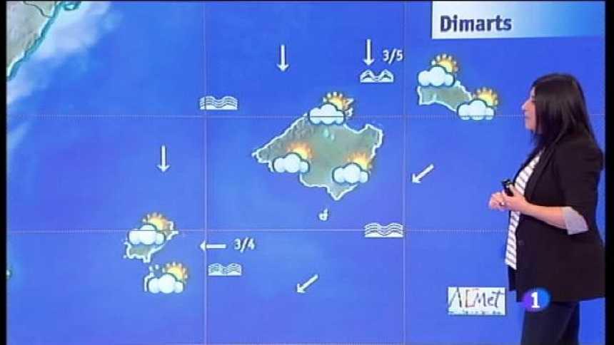 El temps a les Illes Balears - 24/07/17