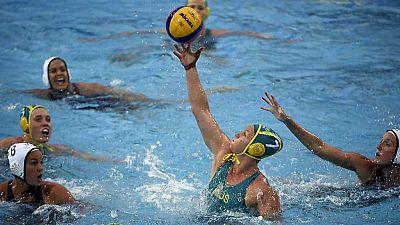 Waterpolo - Campeonato del Mundo Femenino. 1/4 Final: EEUU - Australia - ver ahora