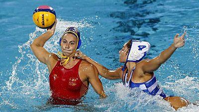 Waterpolo - Campeonato del Mundo Femenino. 1/4 Final: Grecia - España - ver ahora