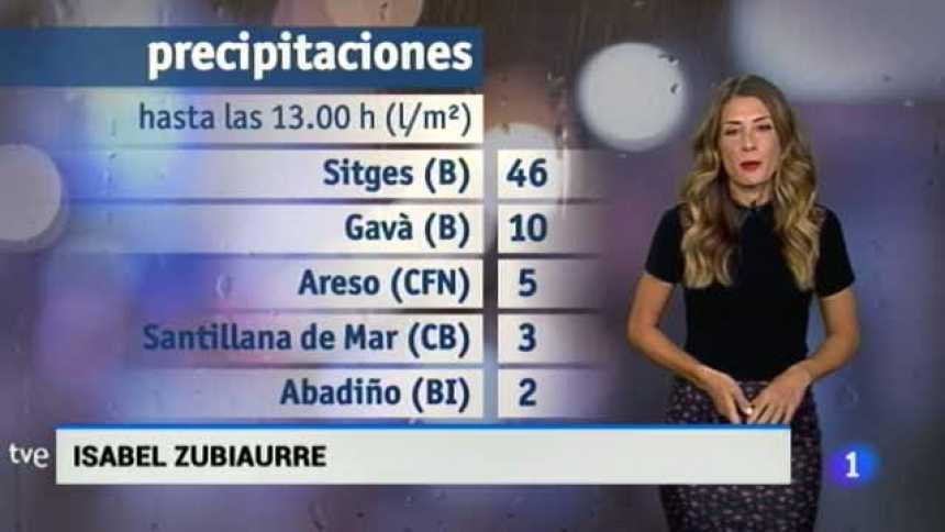 El Tiempo en Extremadura - 25/07/17