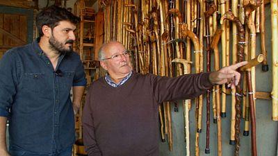 Manolo, artista de la madera