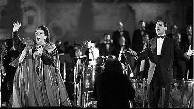 Freddie Mercury y Montserrat Caballé, el símbolo musical de Barcelona'92