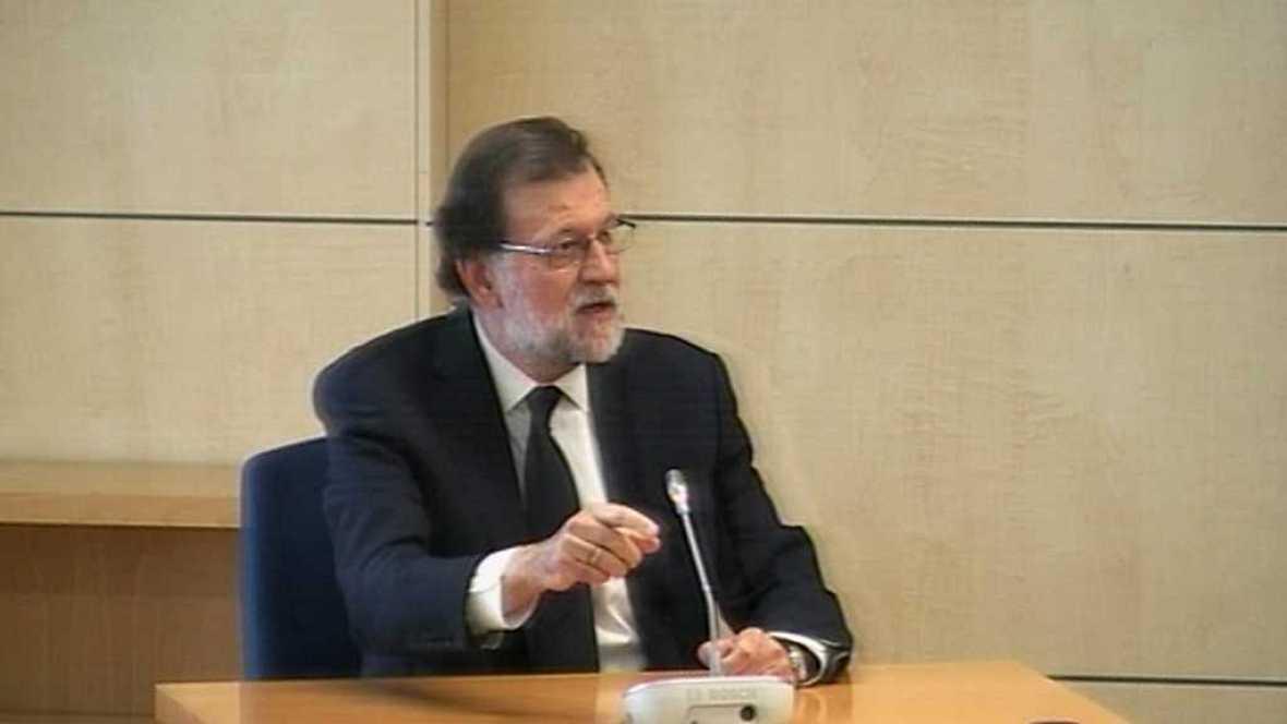 Especiales informativos - Declaración de Mariano Rajoy en la Audiencia Nacional - ver ahora