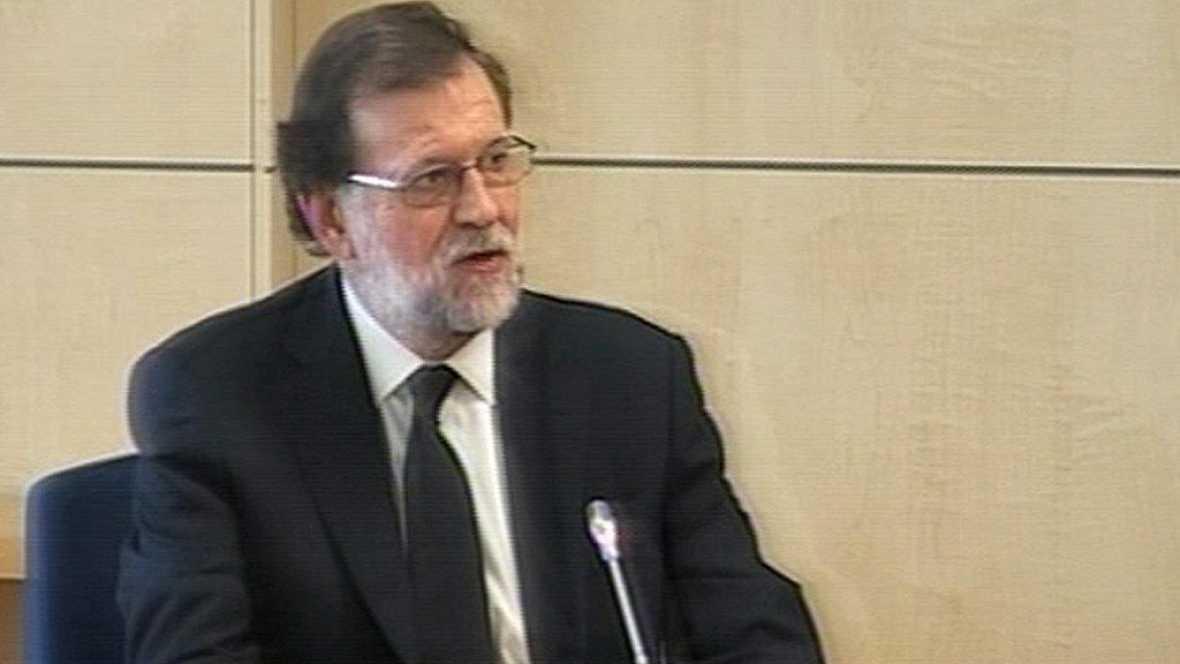 Mariano Rajoy declara como testigo ante el tribunal que juzga el caso Gurtel