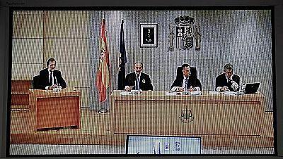 El rifirrafe entre el presidente del tribunal y la acusación protagoniza el interrogatorio a Mariano Rajoy
