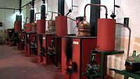 Aromas destilados