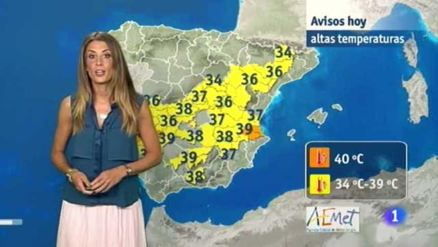 El Tiempo en Extremadura - 27/07/17