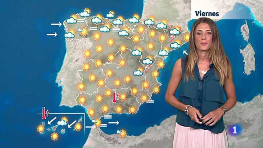 El tiempo en la Comunidad Valenciana - 27/07/17