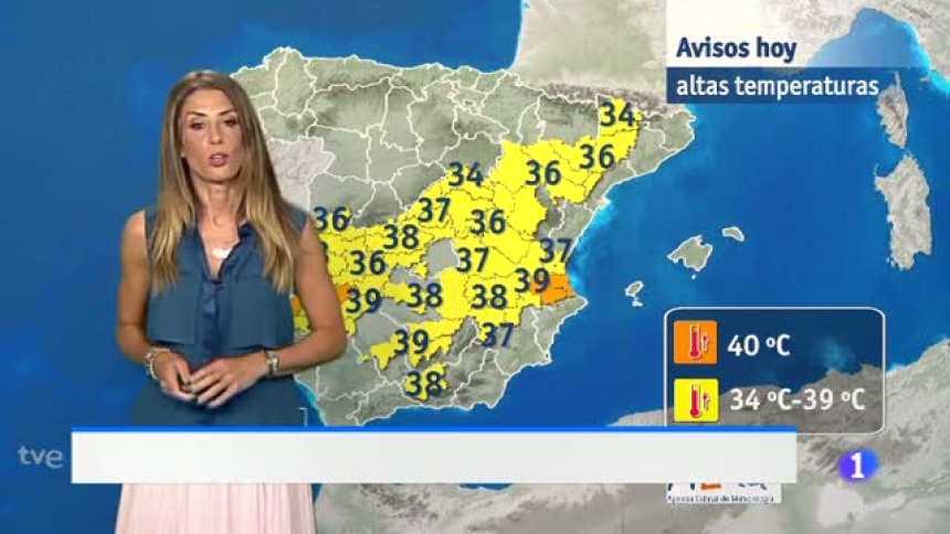 El tiempo en Andalucía - 27/07/17