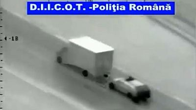"""Detenida una banda rumana que llevaba cinco años robando camiones en España """"surfeando"""""""