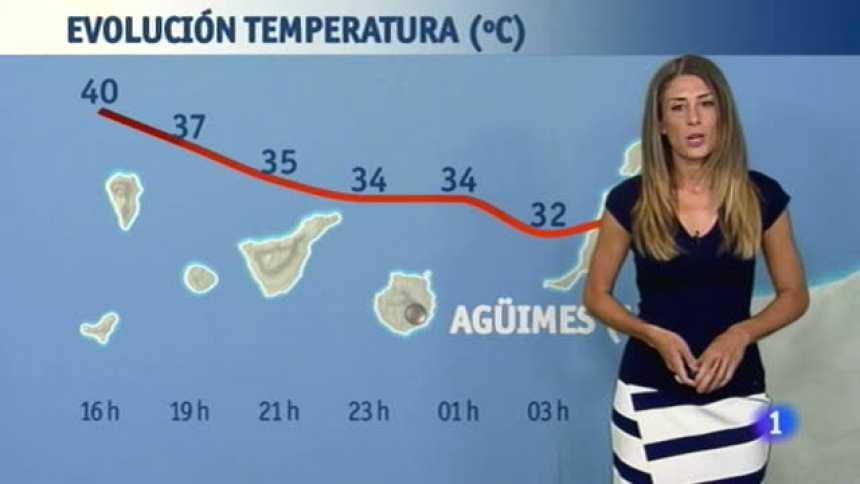 El Tiempo en Extremadura - 28/07/17
