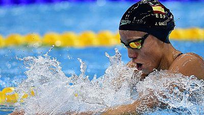 La nadadora española Jessica Vall ha finalizado octava en la final de 200 braza, con la que ha puesto punto y final a su participación en los Mundiales de Budapest.
