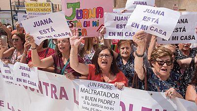 El juez rechaza la orden internacional de detención contra Juana Rivas solicitada por su expareja