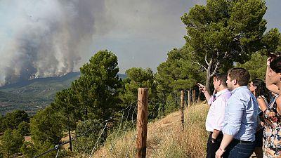 Un incendio en Albacete obliga a desalojar a 300 personas