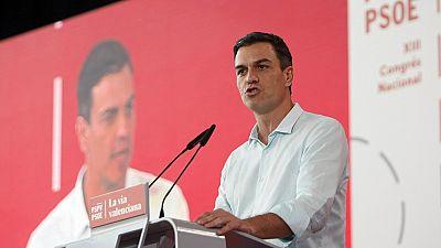 """Sánchez acusa a Rajoy de """"sacar pecho cuando habla de la precariedad laboral y la desigualdad"""""""