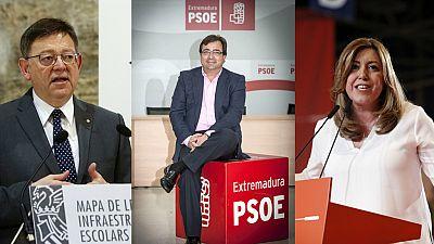 El PSOE ratifica a su cúpula en seis comunidades autónomas