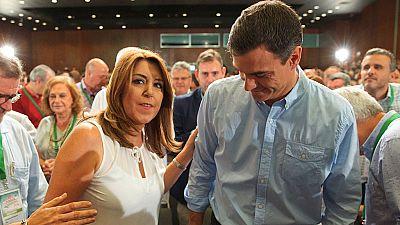 """Díaz pide a Sánchez que no le haga elegir """"entre dos lealtades"""" y él le responde que hablan """"el mismo idioma"""""""
