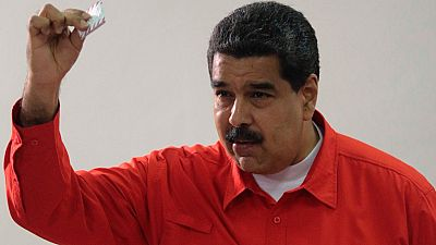 Maduro, de los primeros en votar en las elecciones constituyentes