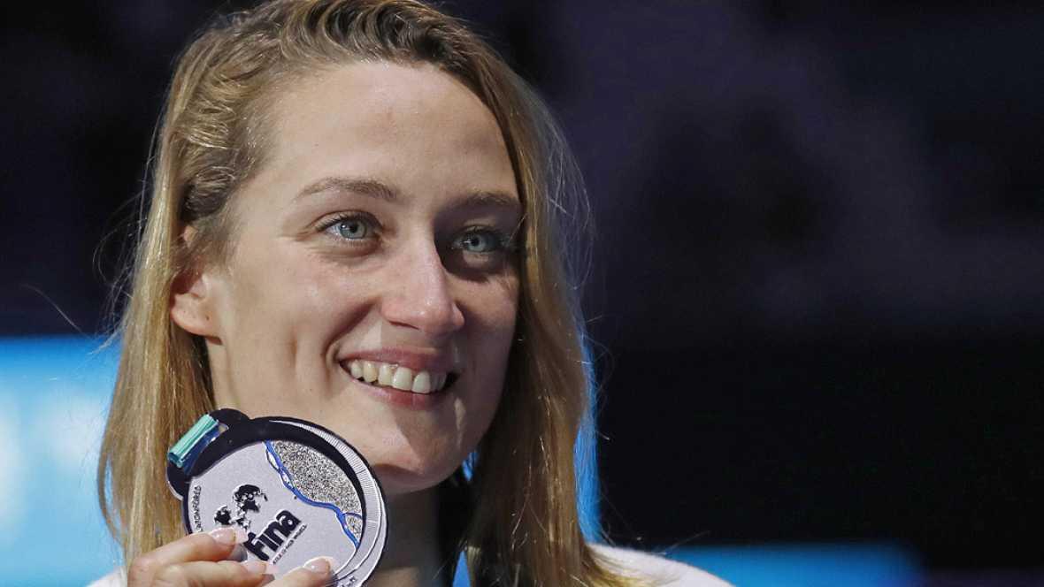 La nadadora española ha sumado su tercera medalla en Budapest en los 400 estilos. Una nueva plata que se suma a el oro en 200 mariposa y la plata en 1.500.