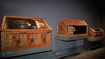 Continúa el litigio entre Cataluña y Aragón por las obras de arte del Monasterio de Sijena