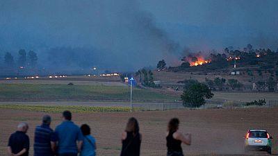 Un foco permanece activo en el incendio de Yeste