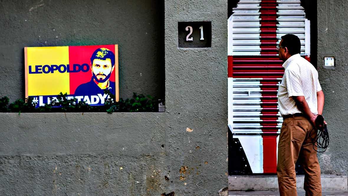 El Gobierno de Venezuela vuelve a encarcelar a los opositores Leopoldo López y Antonio Ledezma
