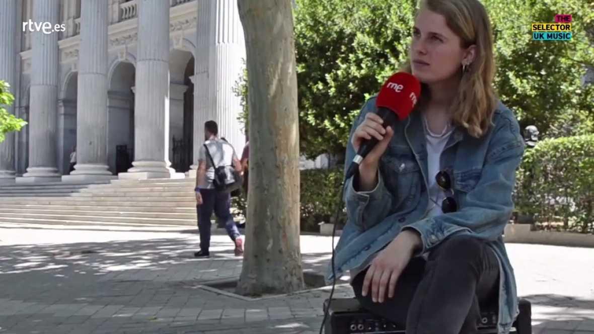 The Selector - Marika Hackman vídeo entrevista - 08/08/17 - ver ahora