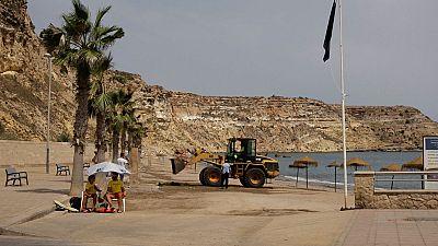 Reabierta la playa de Horcas Coloradas en Melilla tras la aparición de escorpiones