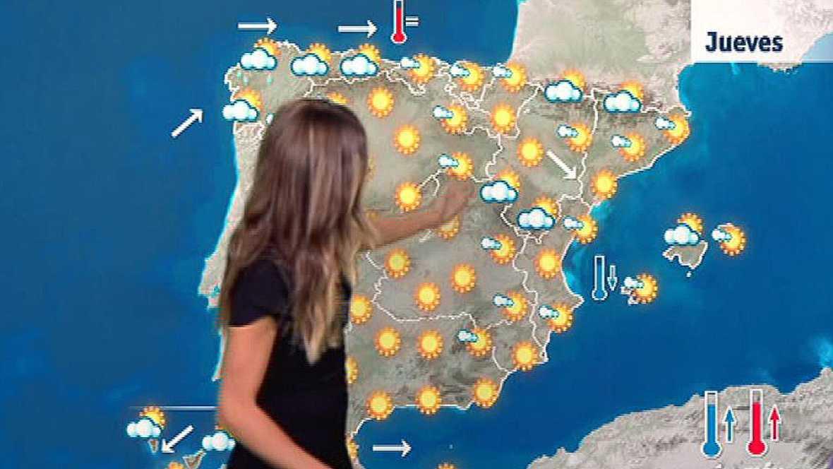 Temperaturas altas en el interior del sur y el este peninsular y en Baleares este jueves tres de agosto de 2017