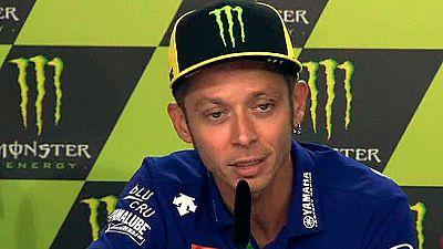 """Rossi tras la muerte de Ángel Nieto: """"Es un mal momento para el motociclismo"""""""