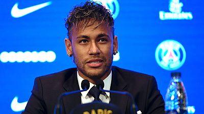 """Neymar, en su presentación con el PSG: """"Necesitaba un nuevo desafío"""""""