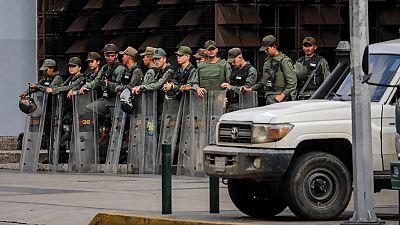 La Guardia Nacional Bolivariana rodea la sede del Ministerio Público en Caracas