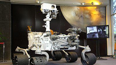 El 'Curiosity' celebra cinco años de su llegada a Marte. El robot recorrió 482 millones de kilómetros hasta llegar al planeta rojo.