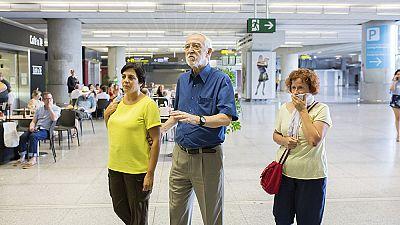 Llegan a Málaga seis de los nueve supervivientes del accidente en la India