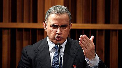 El nuevo fiscal general de Venezuela, Tarek Saab, culpa a su antecesora de su destitución
