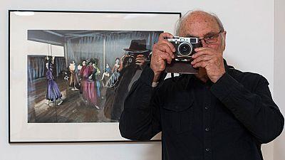 La exposición de Carlos Saura recoge fotografías emblemáticas de la España de los años 50