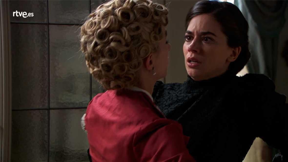 Acacias 38 - Cayetana apuñala a Teresa