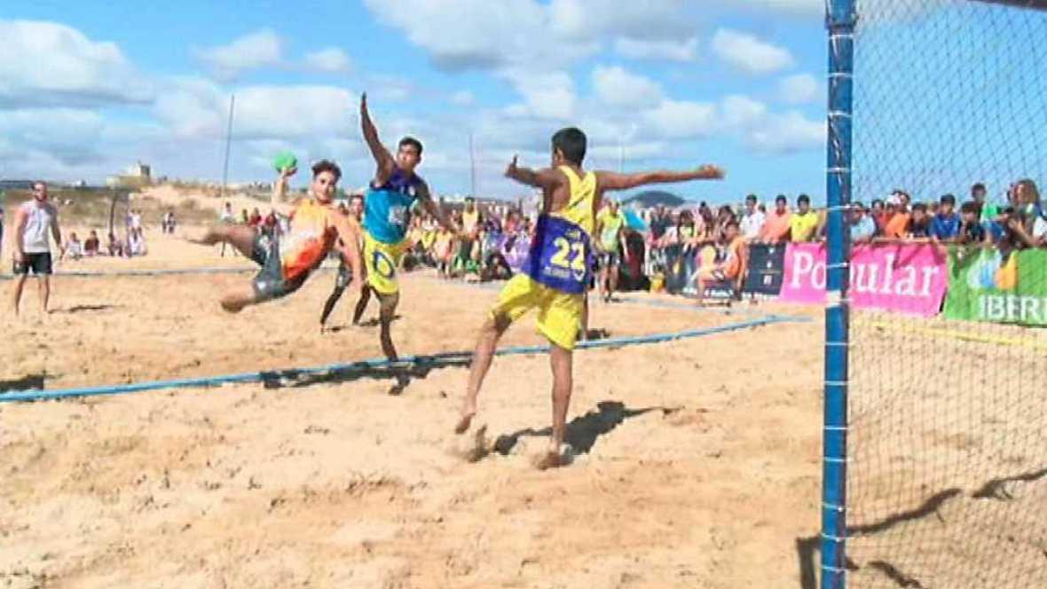 Balonmano Playa - Campeonato de España. Resumen - ver ahora