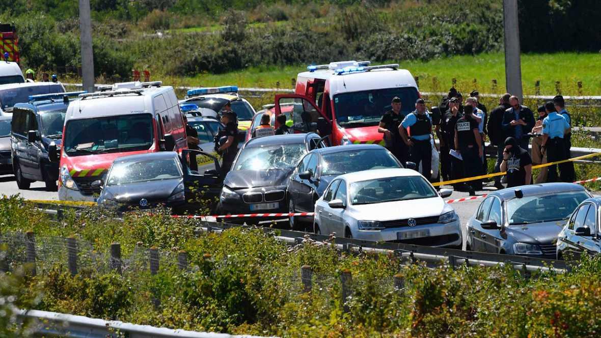 """Seis militares heridos en un atropello """"deliberado"""" cerca de París"""