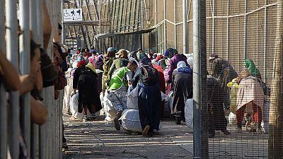 En Ceuta se ha cerrado la frontera del Tarajal con Marruecos