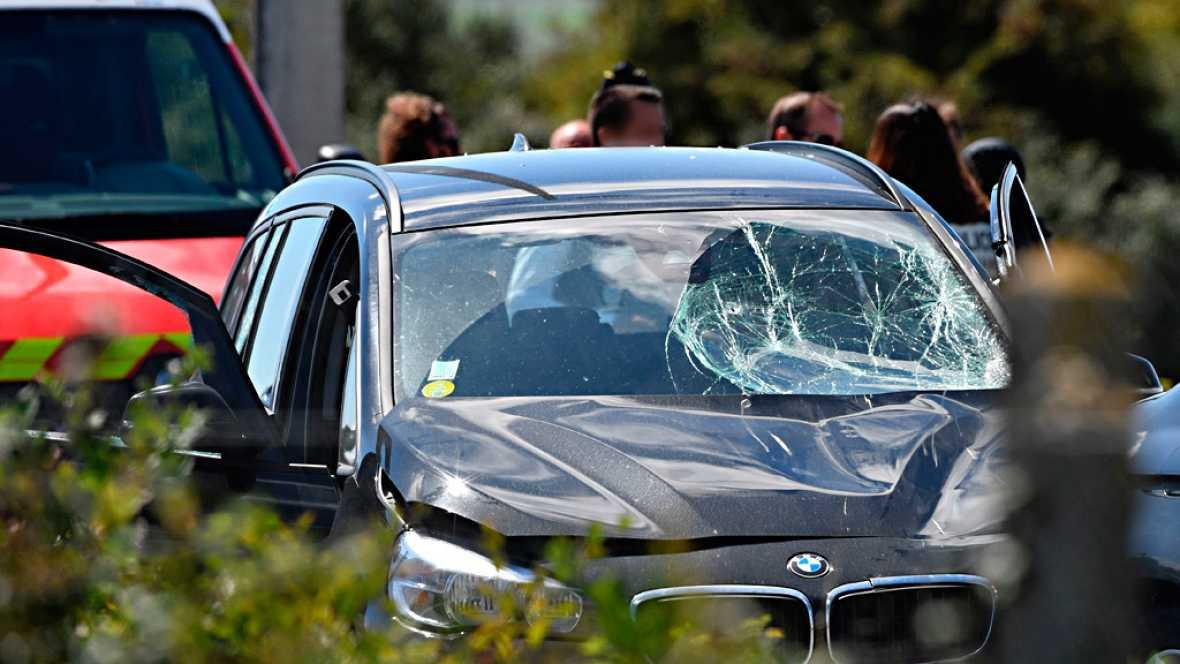 El sospechoso de atropellar una patrulla militar en Francia ha sido detenido en una autovía al norte de París