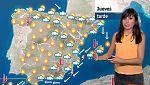 La Aemet prevé para este jueves temperaturas por debajo de lo normal en el centro, norte y este peninsular