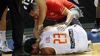 Llull sufre una rotura de ligamento cruzado anterior de la rodilla derecha