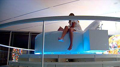 El Centro Botín de Santander comienza una iniciativa para que los clientes puedan dormir dentro del museo