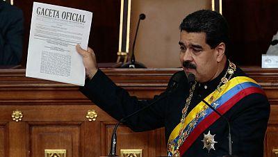 La Asamblea Constituyente ratifica a Maduro como presidente de Venezuela