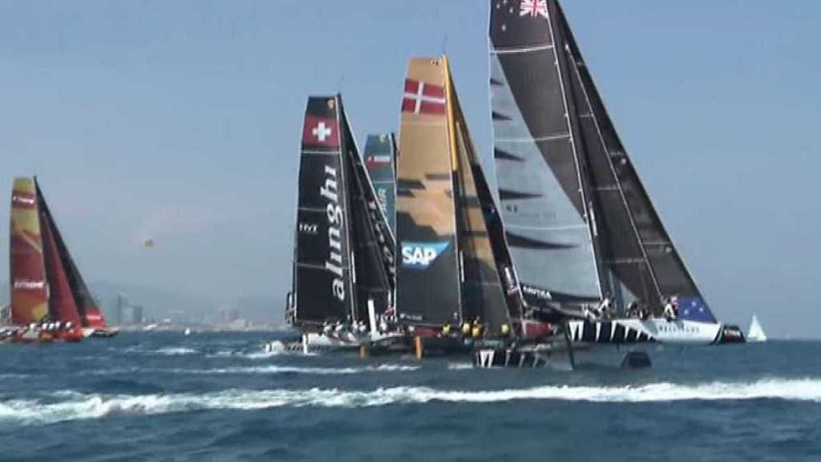 Vela - Extreme Sailing Series. Prueba Barcelona 2017 - ver ahora